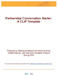 Partnership Conversation Starter