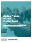 Adding French to Your English Event