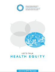 Let's talk... health equity