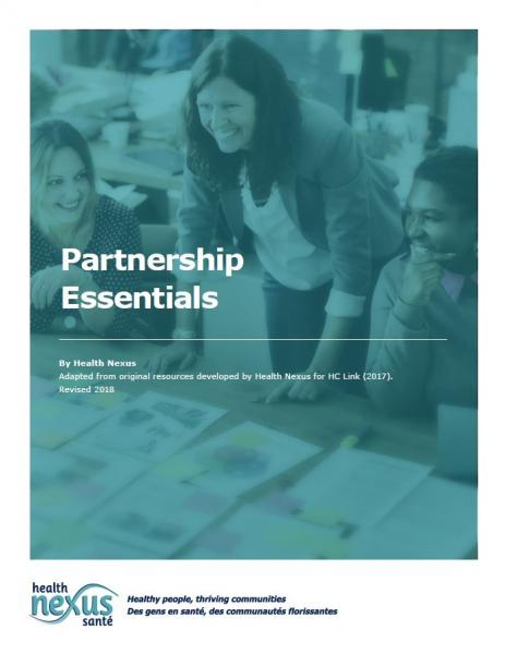 Cover image for Partnership Essential brochure. Click to download it.